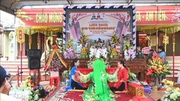 Liên hoan 'Thực hành tín ngưỡng thờ mẫu Tam phủ của người Việt' tỉnh Thanh Hóa