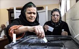 Ai Cập hoàn tất kiểm phiếu tại các điểm bỏ phiếu ở nước ngoài