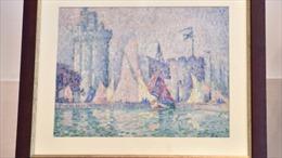 Tìm thấy bức tranh trị giá 1,5 triệu euro bị đánh cắp ở Pháp