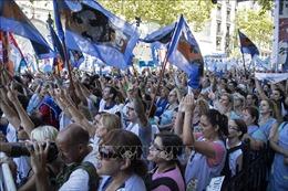 Biểu tình lớn tại Argentina
