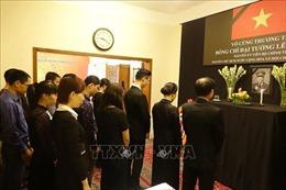 Đại sứ quán Việt Nam tại Ukraine và Bangladesh tổ chức lễ viếng nguyên Chủ tịch nước Lê Đức Anh