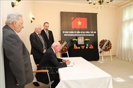 Lễ viếng và mở sổ tang nguyên Chủ tịch nước Lê Đức Anh tại Đức và Thụy Sĩ