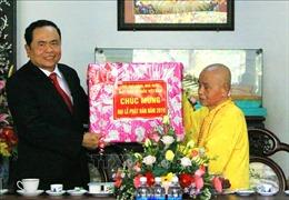 Chủ tịch Ủy ban Trung ương MTTQ Việt Nam chúc mừng Đại lễ Phật đản tại Thừa Thiên - Huế