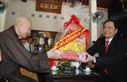 Chủ tịch Ủy ban Trung ương MTTQ Việt Nam chúc mừng lễ Phật đản tại Quảng Trị