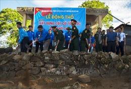 Xây dựng Cột cờ Tổ quốc trên đảo Thổ Chu