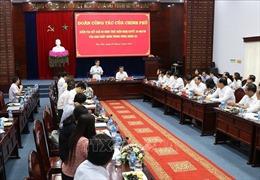Phó Thủ tướng Chính phủ Vũ Đức Đam làm việc tại tỉnh Bạc Liêu
