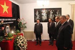 Lễ viếng và mở sổ tang nguyên Chủ tịch nước Lê Đức Anh tại Algeria, Saudi Arabia