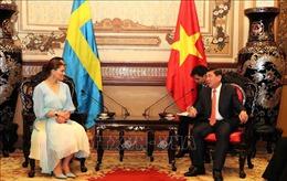 Lãnh đạo TP Hồ Chí Minh tiếp Công chúa kế vị Hoàng gia Thụy Điển