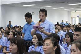 Hà Nội sẽ quan tâm giải quyết thỏa đáng nguyện vọng của người lao động