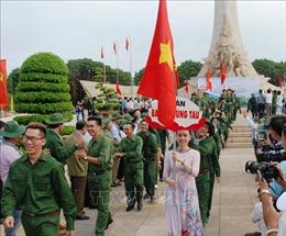 Xuất quân Liên hoan Tuyên truyền lưu động toàn quốc 'Trường Sơn - Con đường huyền thoại'