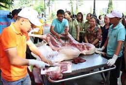 Phát động tiêu thụ thịt lợn an toàn, gỡ khó cho người chăn nuôi Hưng Yên
