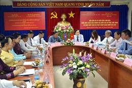 Việt Nam - Lào tăng cường hợp tác trong lĩnh vực xuất bản