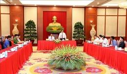 Trưởng Ban Tổ chức Trung ương tiếp Đoàn đại biểu người có uy tín tỉnh Bắc Kạn