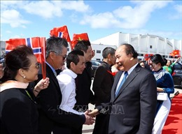 Thủ tướng Nguyễn Xuân Phúc kết thúc tốt đẹp chuyến thăm chính thức Vương quốc Na Uy