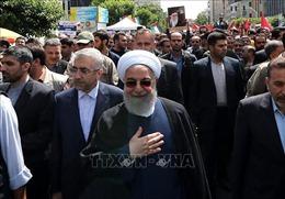 Hàng chục nghìn người Iran và Iraq tuần hành ủng hộ Palestine