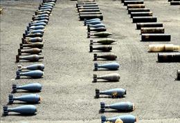 Quân đội Syria phát hiện 4 tấn thuốc nổ C-4 của IS
