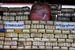 Myanmar bắt giữ một cảnh sát đánh tráo lượng ma túy trị giá gần 1 triệu USD
