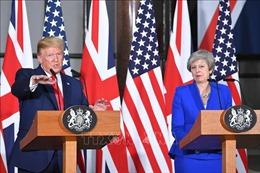 Tổng thống Mỹ D.Trump kết thúc chuyến thăm Vương quốc Anh