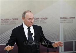 Tổng thống Nga nêu điều kiện dỡ bỏ lệnh trừng phạt EU