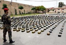 Syria phát hiện và thu giữ nhiều vũ khí của phiến quân