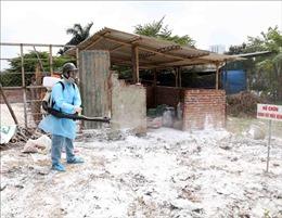 Bí thư Thành ủy Hoàng Trung Hải kiểm tra việc phòng, chống dịch tả lợn châu Phi ở Quốc Oai
