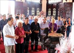 Dâng hương kỷ niệm 107 năm Ngày sinh Chủ tịch Hội đồng Bộ trưởng Phạm Hùng