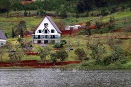 Xử lý dứt điểm vi phạm tại Khu Du lịch quốc gia hồ Tuyền Lâm