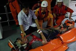 Kịp thời cấp cứu thuyền viên tàu Liberia bị nạn trên vùng biển Đà Nẵng