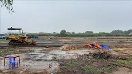 Xử lý hàng loạt trường hợp tự ý san ủi đất nông nghiệp để phân lô, bán nền