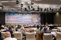 Đại hội Các hãng thông tấn Toàn thế giới kết thúc các phiên thảo luận