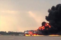 Tiết lộ nguyên nhân vụ cháy máy bay Nga khiến 41 người thiệt mạng