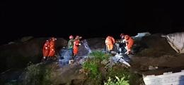 133 người thương vong trong vụ động đất ở Tứ Xuyên, Trung Quốc