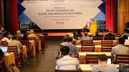 54 nhà khoa học quốc tế tham dự hội nghị về tán xạ đàn tính và nhiễu xạ