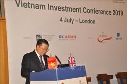 Hội nghị xúc tiến đầu tư tài chính Việt Nam tại London