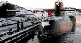 Thiết bị năng lượng hạt nhân trên chiếc tàu lặn bị cháy của Nga vẫn an toàn