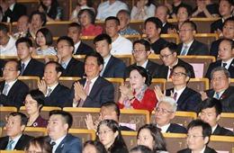 Chủ tịch Quốc hội dự Chương trình nghệ thuật Nhịp cầu hữu nghị tại Trung Quốc