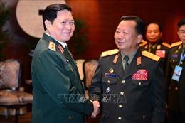 Tăng cường củng cố quan hệ quốc phòng Việt Nam - Lào