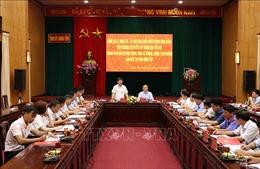 Kiểm tra công tác phòng, chống tham nhũng tại Hưng Yên