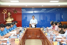 Đoàn kiểm tra của Ban Bí thư làm việc với Đảng đoàn Tổng Liên đoàn Lao động Việt Nam