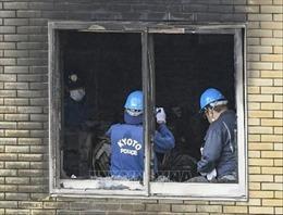Vụ cháy xưởng phim ở Nhật Bản: Chính thức buộc tội nghi can