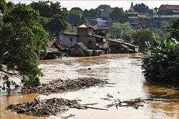 Indonesia nghiên cứu xây tường phong tỏa Jakarta để chặnnước biển