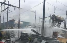 Mất điện diện rộng do cháy trạm biến áp KCN Phố Nối A, Hưng Yên