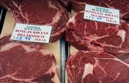 Mỹ đạt thỏa thuận xuất khẩu thịt bò sang EU