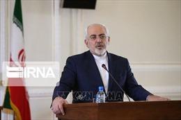 Iran đề nghị LHQ ngăn chặn Mỹ trừng phạt Ngoại trưởngZarif