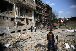 Số người bị thương trong vụ nổ lớn ở Kabul lên tới 95 người