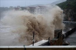 Trung Quốc nâng cấp độ ứng phó khẩn cấp với bão Lekima