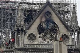 Nhà thờ Đức Bà Paris vẫn đối mặt với nguy cơ bị sập