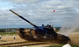Việt Nam xuất sắc giành vị trí thứ hai môn đua xe tăng tại Army Games-2019