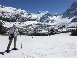 Mùa Đông 'khan'tuyết ở dãy Andes