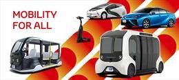 Toyota 'Xanh hóa' đội xe phục vụ Thế vận hộiTokyo2020